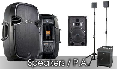 Speakers/P.A.